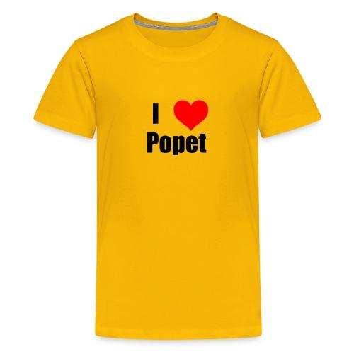 ILovePopet - Teenage Premium T-Shirt