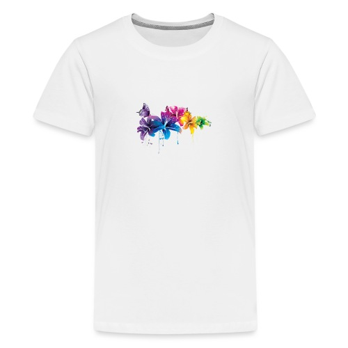 Flowers - Teenager Premium T-shirt