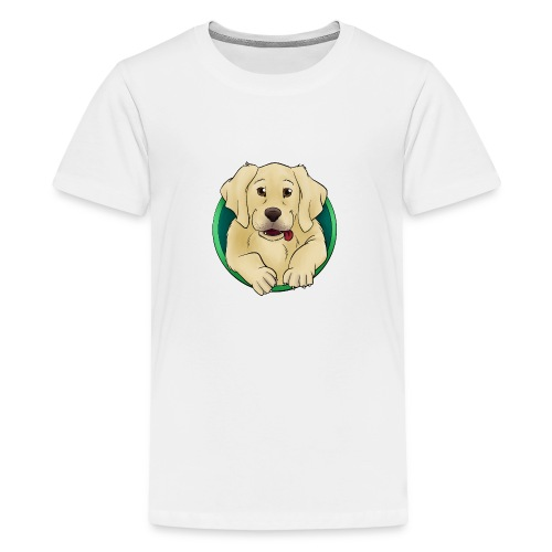 Hunde Portrait - Labrador Welpe - Teenager Premium T-Shirt