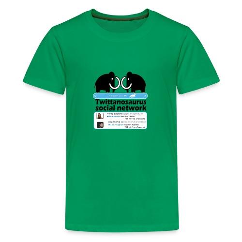 homo sapins versus neandertal - T-shirt Premium Ado