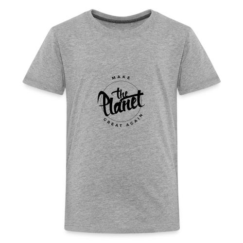 MakeThePlanetGreatAgain Organic Shirt White - Teenage Premium T-Shirt