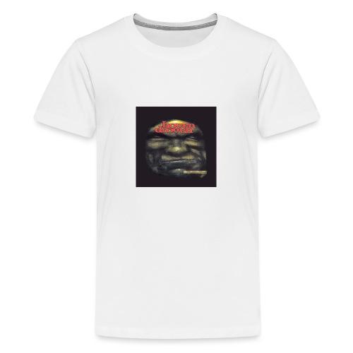 Hoven Grov knapp - Teenage Premium T-Shirt
