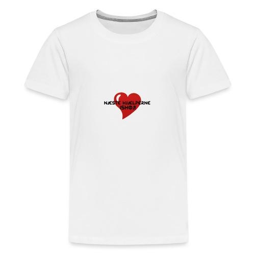 Næste-Hjælperne-Ishøj - Teenager premium T-shirt