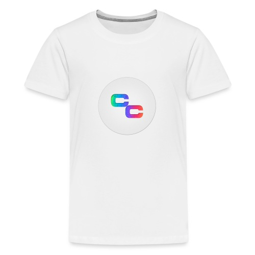 Callum Causer Rainbow - Teenage Premium T-Shirt