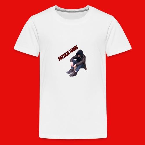 Fattige Hans - Premium T-skjorte for tenåringer