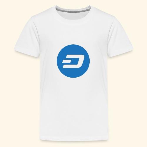 Dash Logo 2 - Teenager Premium T-Shirt
