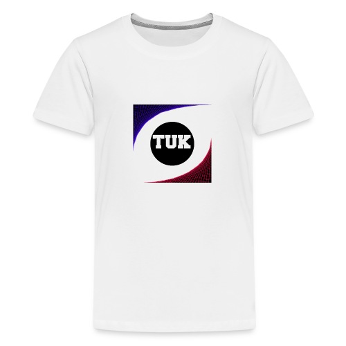 new stream and youtube logo - Teenage Premium T-Shirt