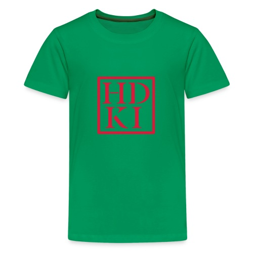 HDKI logo - Teenage Premium T-Shirt