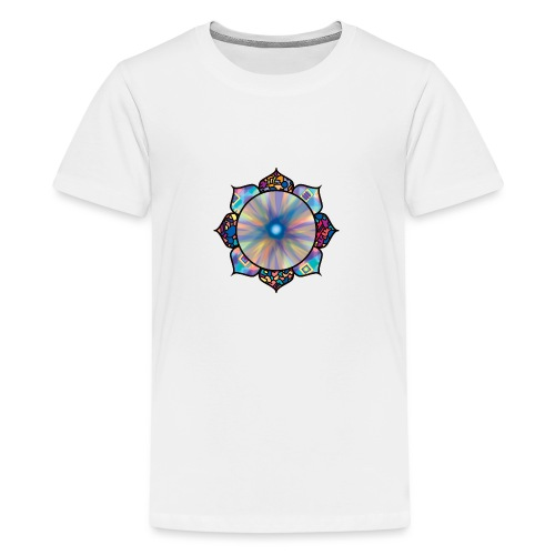 Buddha Flower - Teenage Premium T-Shirt
