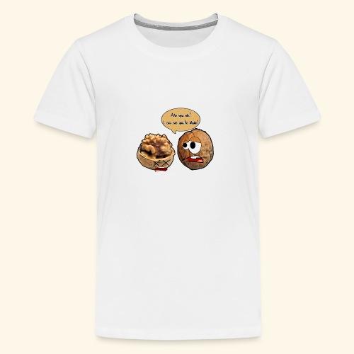 The nuts problem - Maglietta Premium per ragazzi
