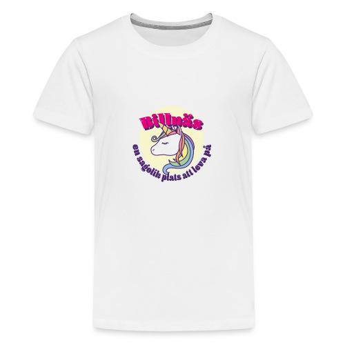billnas unicorn - Teinien premium t-paita