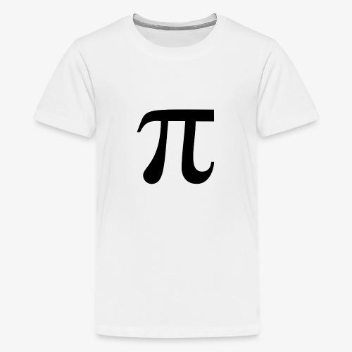pi - Premium T-skjorte for tenåringer