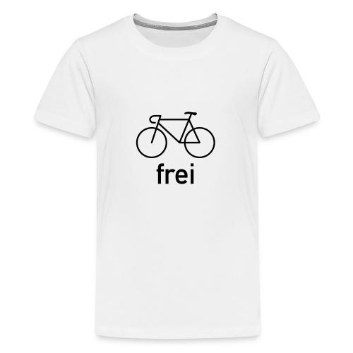 Fahrrad Frei - Rennrad - Herren / toneyshirts.de - Teenager Premium T-Shirt