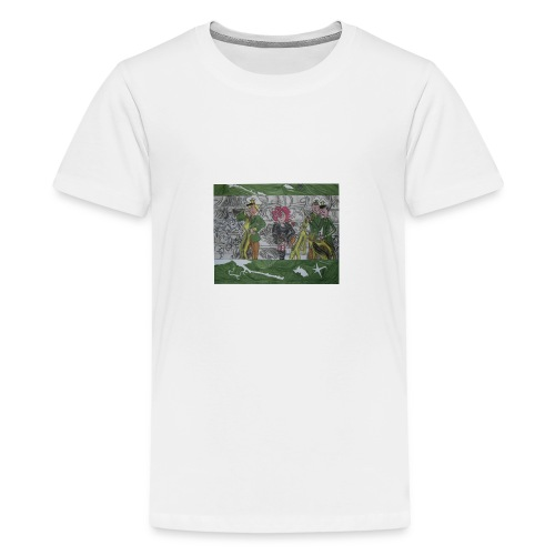 tritt den muelleimer um - Teenager Premium T-Shirt