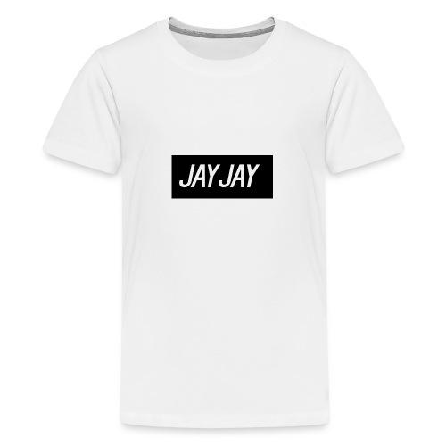 Plain JayJay Logo - Teenage Premium T-Shirt
