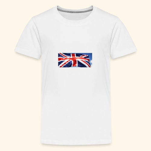 UK flag - Teenage Premium T-Shirt