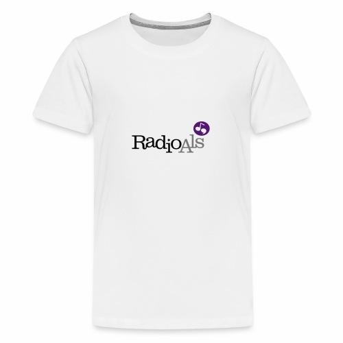 RadioAls Logo CMYK - Teenager premium T-shirt