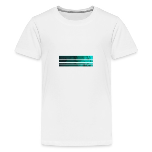 blaettergruen - Teenager Premium T-Shirt