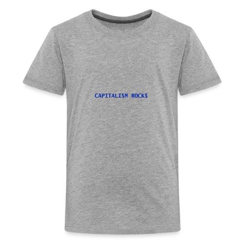 CAPITALISM ROCKS - Maglietta Premium per ragazzi