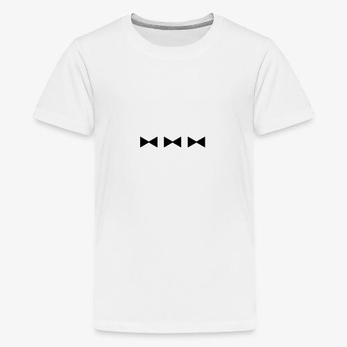 3 FLIEGEN - schwarz - Teenager Premium T-Shirt