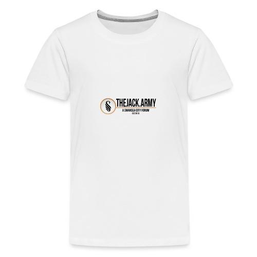 TJA Black - Teenage Premium T-Shirt