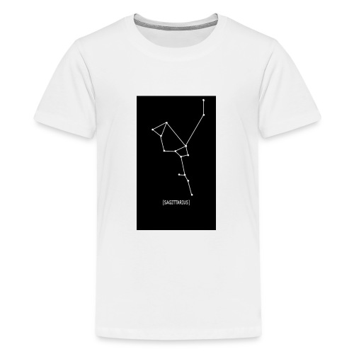 SAGITTARIUS EDIT - Teenage Premium T-Shirt