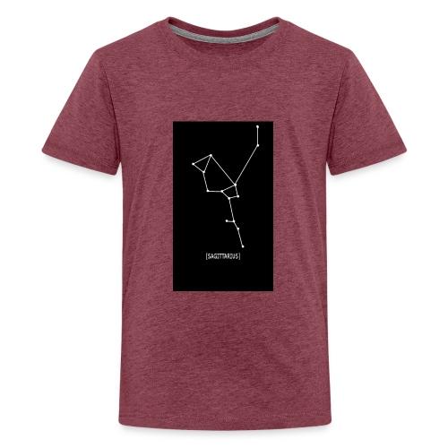 SAGITTARIUS EDIT - Teenage Premium T-Shirt