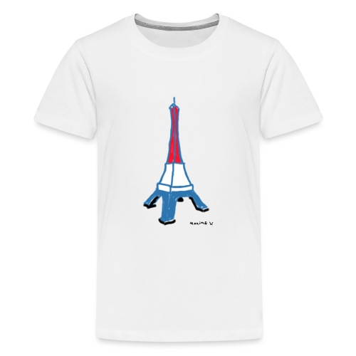Paris Tour Eiffel - T-shirt Premium Ado
