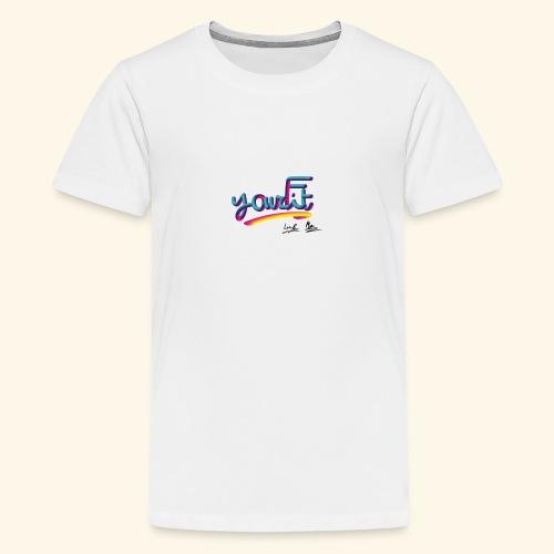 YourFit's Logo - Maglietta Premium per ragazzi