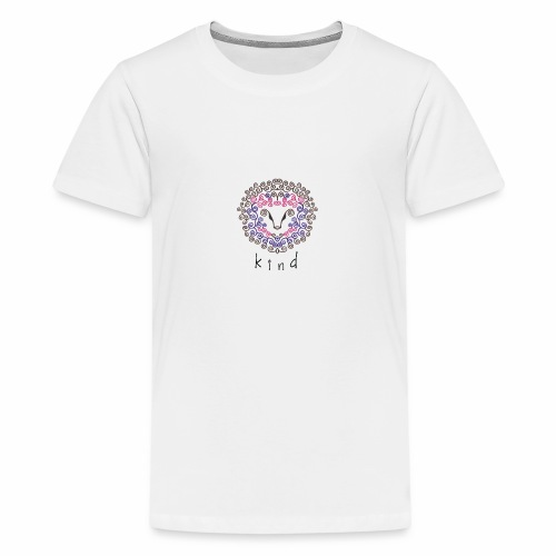 kind Is For All Kind - Teenage Premium T-Shirt
