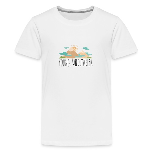 young.wild.tabler - Teenager Premium T-Shirt