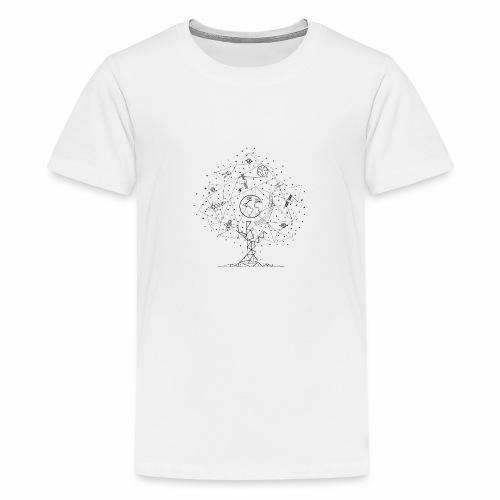 Interpretacja woodspace - Koszulka młodzieżowa Premium