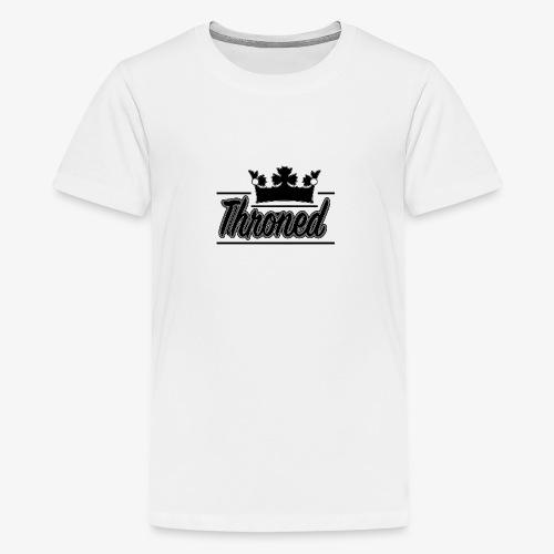 Throned Logo - Teenage Premium T-Shirt