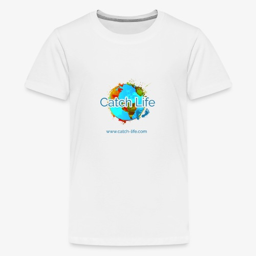 Catch Life Color - Teenage Premium T-Shirt