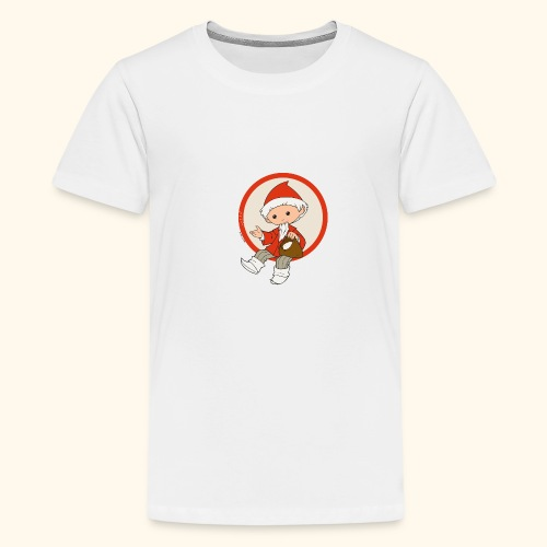 Sandmännchen streut Sand - Teenager Premium T-Shirt