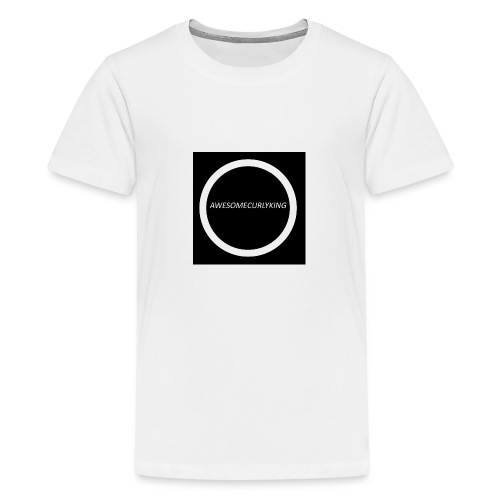 AwesomeCurlyMerch - Teenage Premium T-Shirt