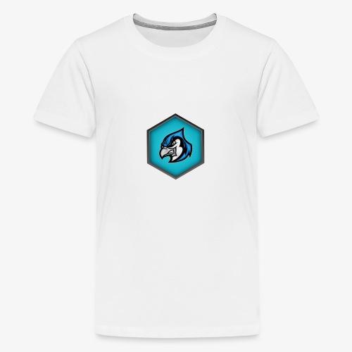 CroccoLogo - Premium-T-shirt tonåring