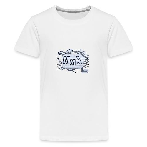 MMA Logo Digitalizasjon! - Premium T-skjorte for tenåringer