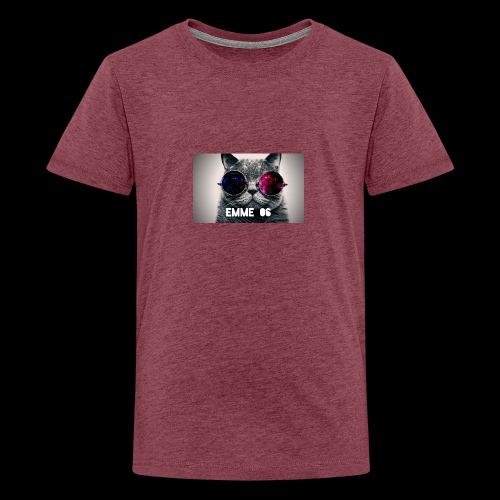 cool wallpaper 1 Fotor - Premium-T-shirt tonåring
