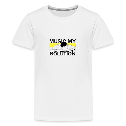 MUSIC MY SOLUTION - T-shirt Premium Ado