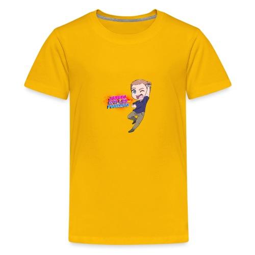 Jørgen spiller lommemonstre - Teenager premium T-shirt