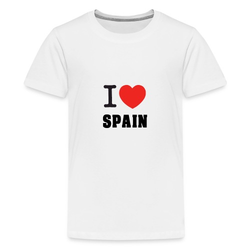 I love spain - Camiseta premium adolescente