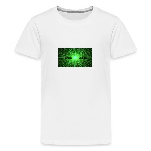 Green Leipzig - Teenager Premium T-Shirt