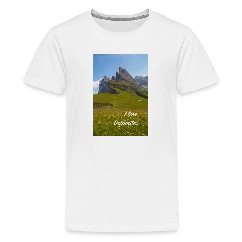 Seceda und Geisler Spitzen - Teenager Premium T-Shirt