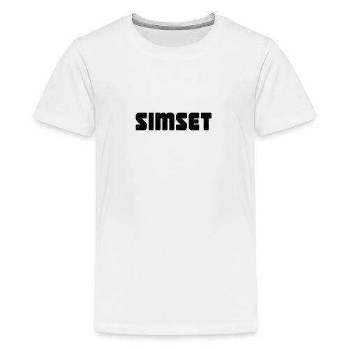 SIMSET - Premium T-skjorte for tenåringer