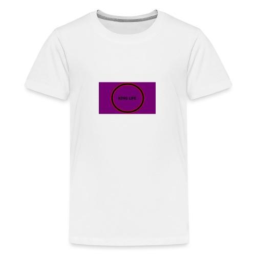 king life - Teinien premium t-paita
