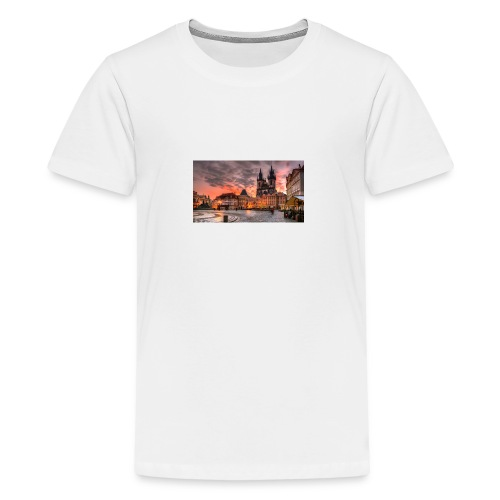 prague - Maglietta Premium per ragazzi
