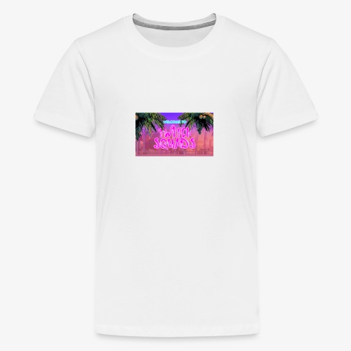 Welcome To Twitch Squads - Teenage Premium T-Shirt