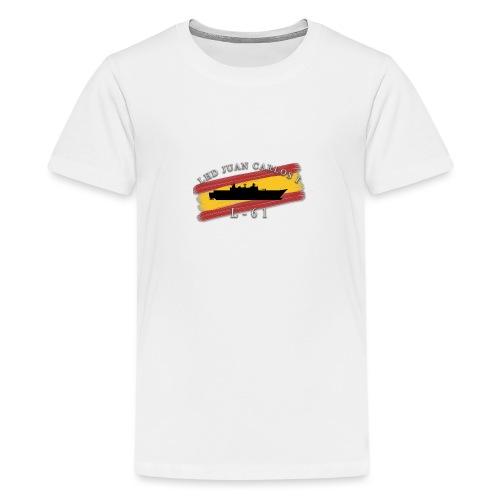 LHD Juan Carlos I - Camiseta premium adolescente