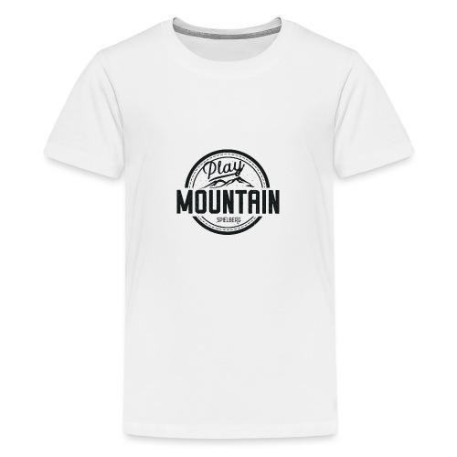 Play Mountain Black Edition - Teenager Premium T-Shirt